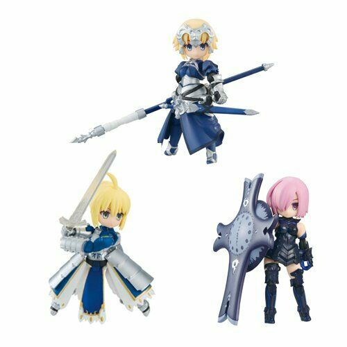 Megahouse Desk Top Army  Fate Grand Order Poseable Figure Set