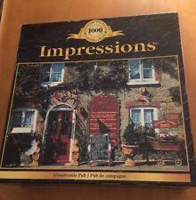Sure-Lox Impressions 1000 Piece Puzzle Called Countryside Pub (See Description)