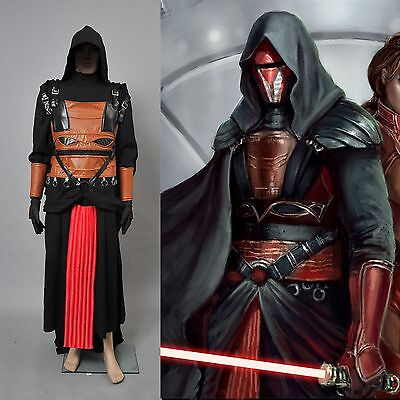 Star Wars Darth Revan Cosplay Costume Full Set *Custom Made*