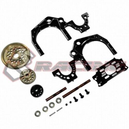 3RACING SAK-D4841 BK Rear Gear Transmittion ratio 1.9 RWD 1 10 RC Sakura D4 Drif