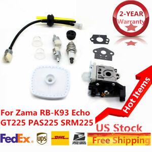 Details about Carburetor Air Filter Fuel Line Kit Fit Zama RB-K93 Echo  SRM-225 GT-225 PAS-225