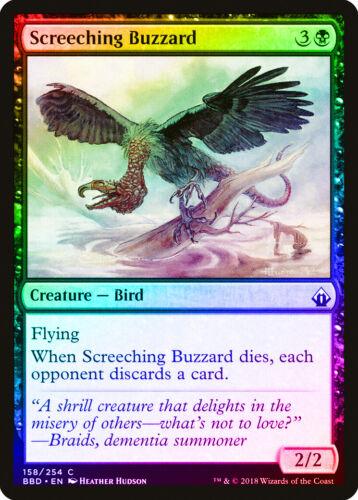 Screeching Buzzard FOIL Battlebond NM Black Common MAGIC MTG CARD ABUGames