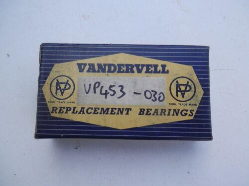 030 VP453 VAUXHALL WYVERN VICTOR F 1952-61 big end shell bearing set