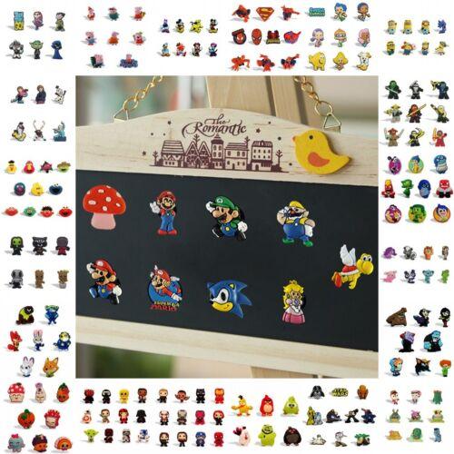 Wholesale 1000pcs Refrigerator Fridge Magnets Kids Souvenir Custom Cartoon Gift