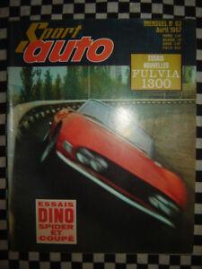 #hvf.44.09 MATRA 530 1967 Car Fiche Auto
