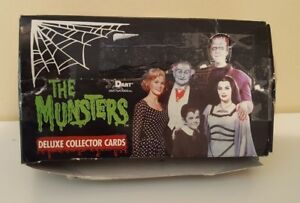 The-Munsters-Deluxe-Collector-Cards-Trading-Card-Hobby-Box-Dart-1996