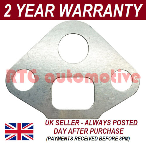 EGR VALVE SEAL GASKET METAL FOR AUDI A2 1.4 8Z 2000-2005