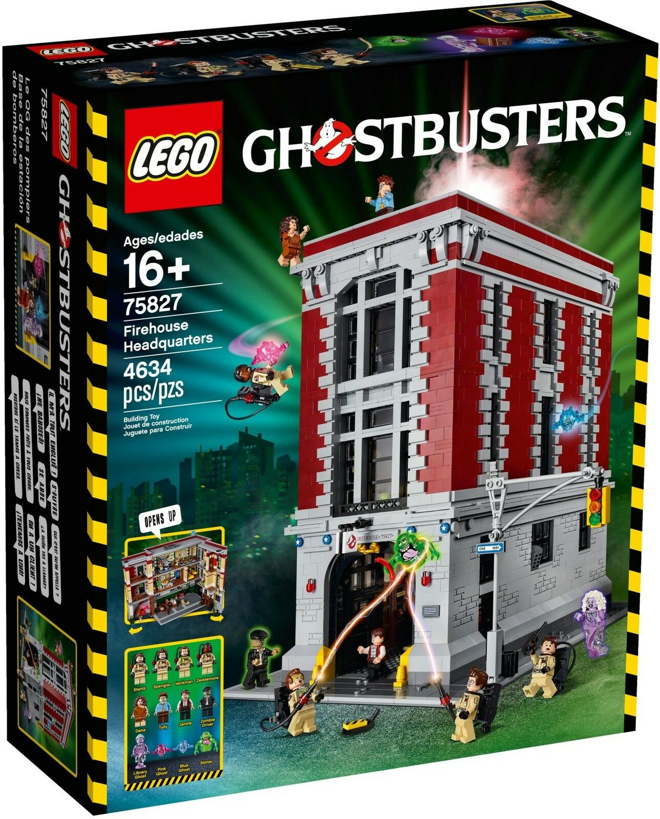LEGO® Ghostbusters™ Firehouse 75827 Feuerwehr-Hauptquartier Firehouse Ghostbusters™ NEU (75828) a6f4d6