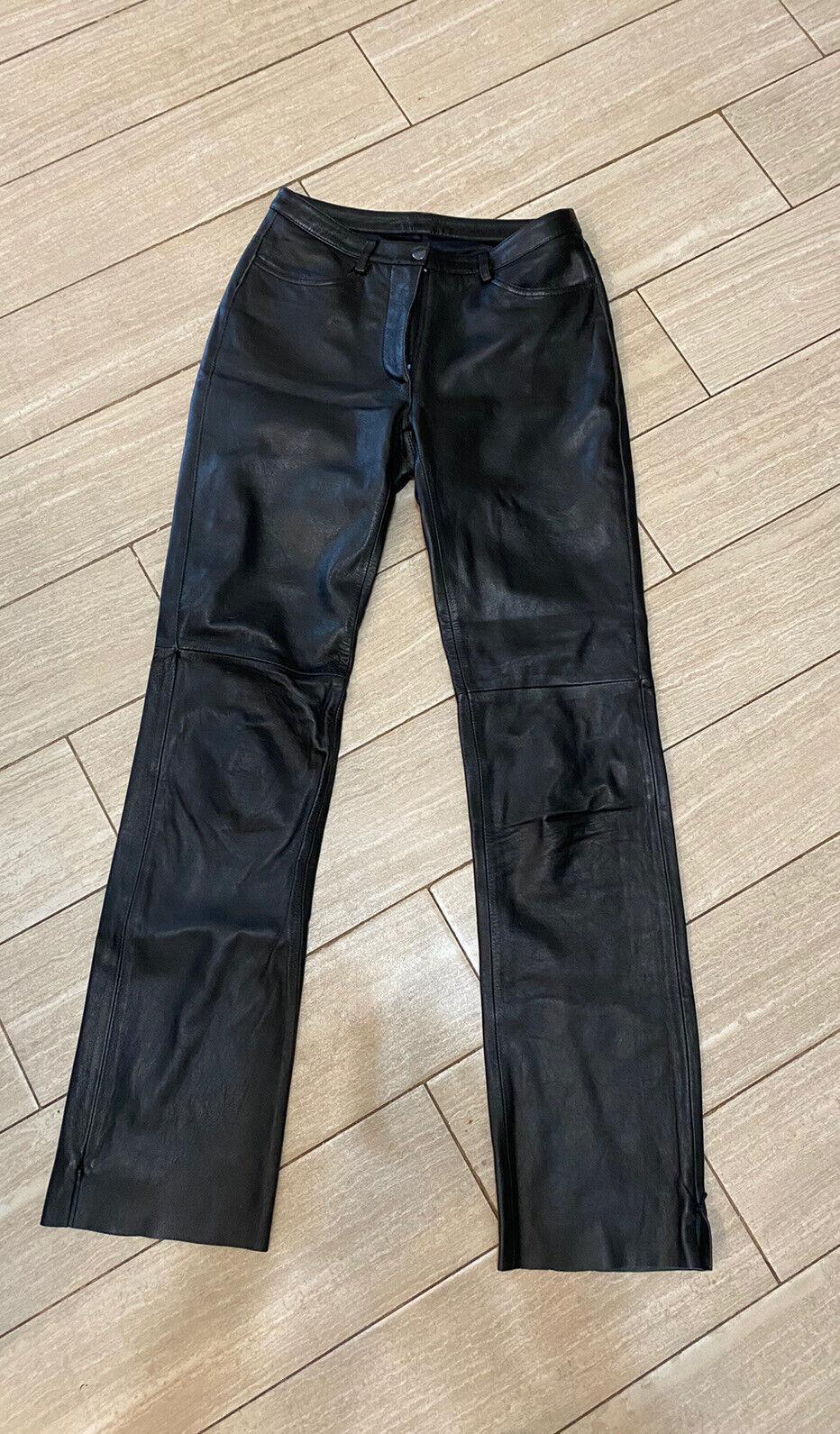 1990's vintage Bebe leather pants - image 1