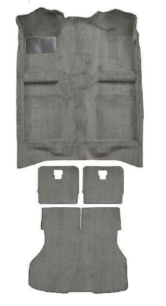 ACC 87-93 FORD MUSTANG HATCHBACK COMPLETE MOLDED CARPET RUG - CHOOSE COLOR