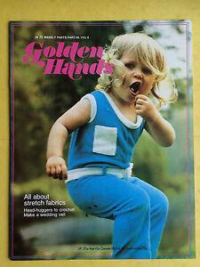 Golden-Hands-Teil-46-Crochet-Knitting-Schneiderei-Bestickt-Magazin