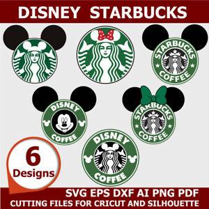 Starbucks Svg Bundle Files For Cricut Svg Png Dxf Eps Jpg Ebay