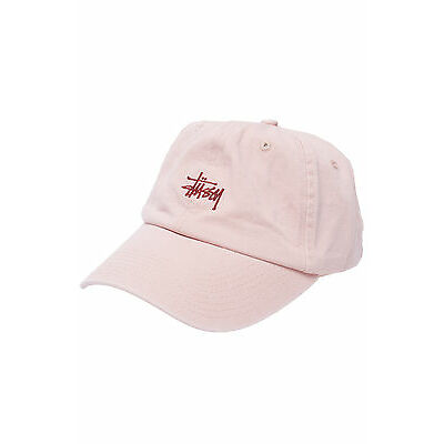 New STUSSY Mens Stock Lo Pro Strapback Pink