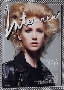 INTERVIEW MAGAZINE, January Jones, Jack Nicholson, Miranda ...