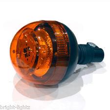 12v - 24v Pole / Pipe Mount LED Beacon Light Bar Amber Flashing CREE ECE R65 UK