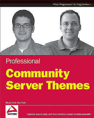 (Good)-Professional Community Server Themes (Programmer to Programmer) (Paperbac