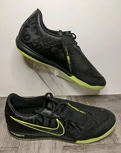New-Nike-Zoom-Phantom-Venom-Pro-IC-Black-Volt-BQ7496-007-Indoor-Shoes-Men-039-s-Sz-9