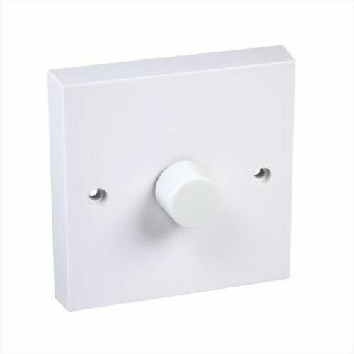 Blanc Push Dimmer Switch DEC DP400//12W 1 gang 2way 400 W