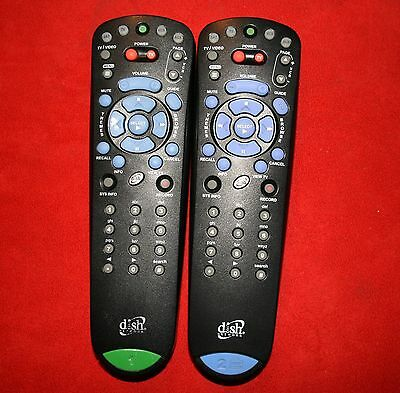 2 DISH NETWORK Bell ExpressVU 4.0 3.0 UHF//IR TV1 GREEN TV2 BLUE REMOTE 322 3200
