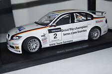 BMW 320si WTCC 2007 J.Müller #2 1:18 Autoart neu & OVP 80747