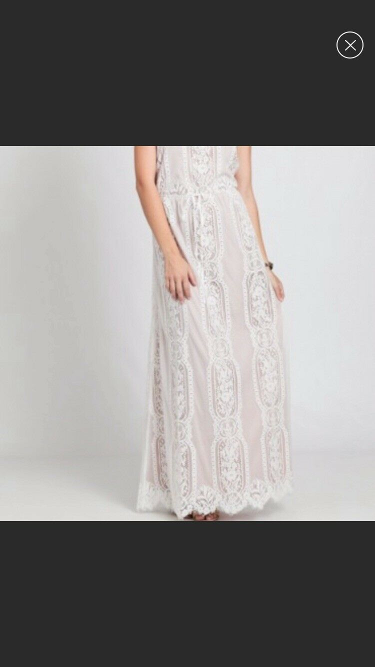 Maxi Dress Size S Lace