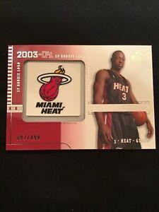 2003-04-Upper-Deck-SP-Signature-SP-Rookie-Logo-Dwayne-Wade-97-499