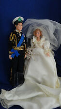 Princess Diana & Prince Charles Wedding Dolls Goldberger 1982