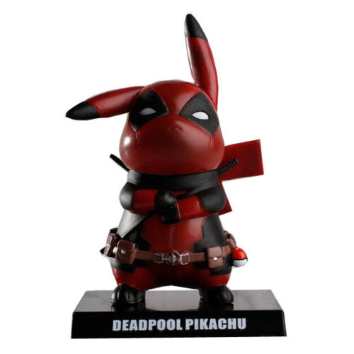 Cos Deadpool Pikachu PVC Collectible Model Toy  Action Figure Collection Model