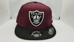 NEW-ERA-9FIFTY-SNAPBACK-HAT-NFL-OAKLAND-RAIDERS