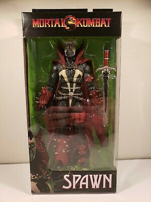 """Mcfarlane Mortal Kombat 7/"""" SPAWN Collectible Action Figure IN HAND ready to ship"""