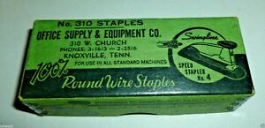 Image Is Loading Vintage Swingline Staples No 310 Office Supply Amp
