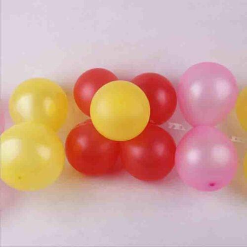 5M Luftballon Dekoration Streifen Bogen Girlande Verbindet Kette Diy Klebeband