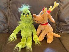 """Seuss How The Grinch Stole Christmas 9/"""" Cutie Plush Universal Studios Parks Dr"""