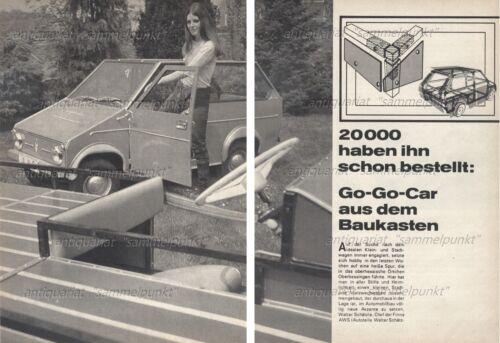 AWS Piccolo//Shopper ciudad auto-original informe de 1970