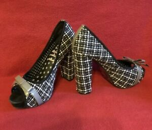 Killah-Miss-Sixty-Tacones-Altos-Zapatos-Textil-tamano-36