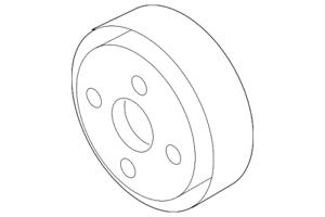 Genuine Nissan Fan Pulley 21051-7S010