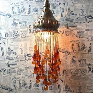 Details About Bohemian Chandelier Vintage Ethnic Turkish Lighting Pendant Lamp For Living Room