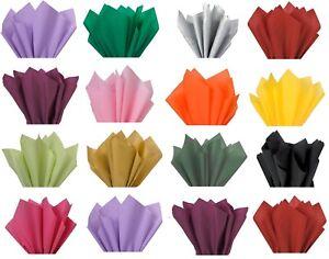 A3-senza-acidi-fogli-di-carta-velina-Imballaggio-Pacco-regalo-20-COLORI