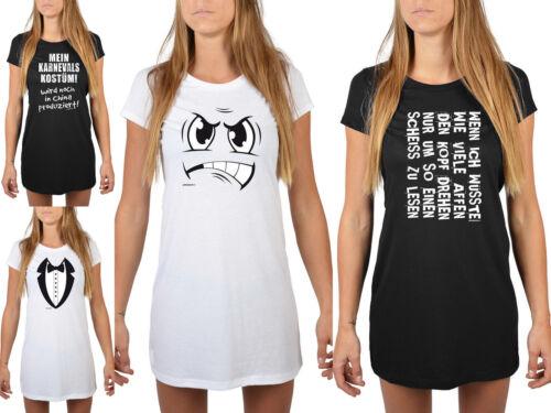Femmes Nuit shirt-Drôle proverbes chemise de nuit-carnaval chemise longue sommeil shirt