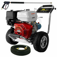 Be Professional 4200 Psi (gas-cold Water) Pressure Washer W/ Cat Pump & Honda...