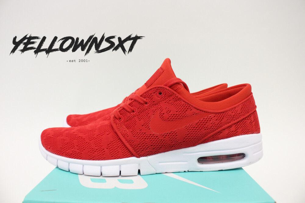 Nike sb stefan janoski sz max sz janoski 8,5  rot - e skate - schuh 631303 662 e80a23