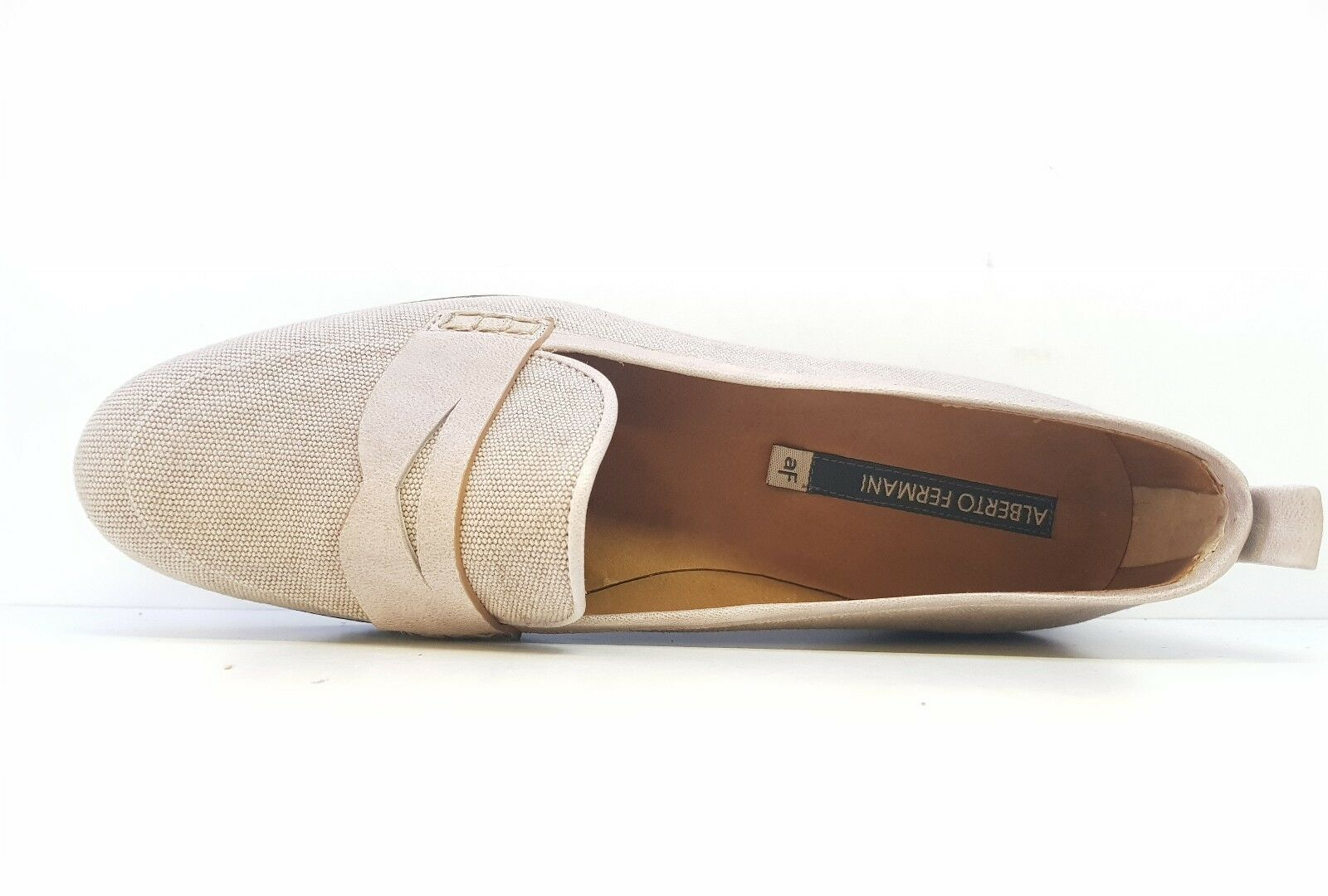 ALBERTO FERMANI LADIES HEEL LOAFERS SIZE EU 37 37 37 2c3158