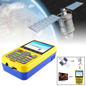 3-5-034-V8-Finder-DVB-S2-FTA-HD-Numerique-Satellite-Finder-Metre-Pointeur-EU-Plug