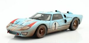 SHELBY-COLLECTIBLES-405-406-431-or-432-FORD-GT40-Mk-II-Le-Mans-1966-Miles-1-18