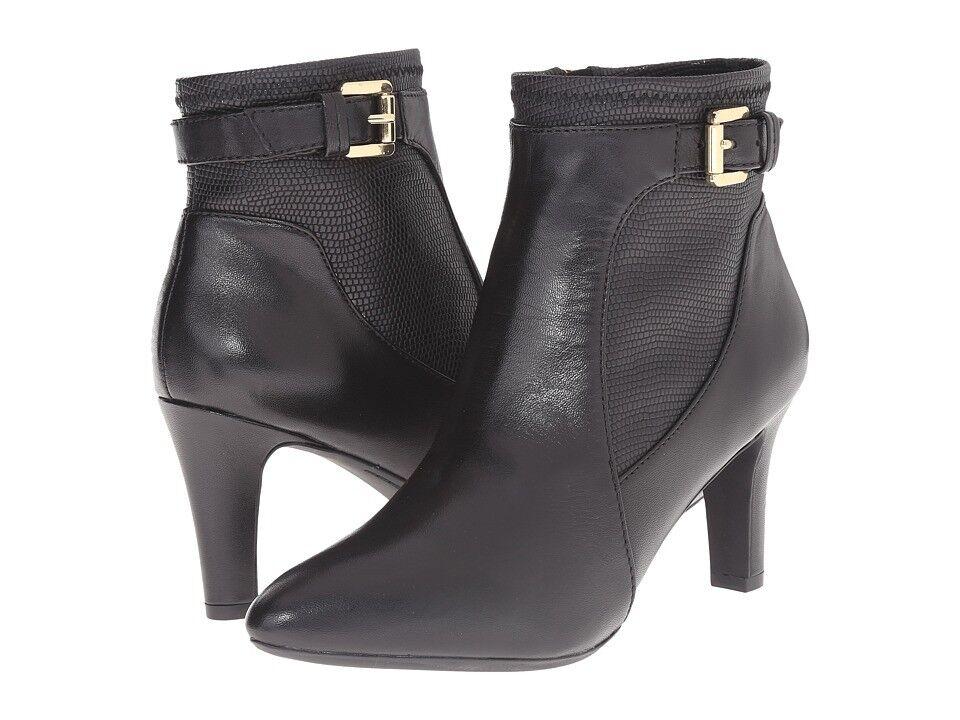 NEU GEOX ankle boots, D Amithi schwarz Leder EU41