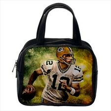 Aaron Rodgers Greenbay Packers Leather Handbag Purse
