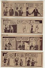 Little Orphan Annie by Harold Gray - 26 daily comic strips - Complete March 1957
