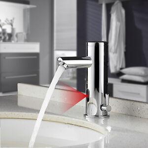 infrarot sensor wasserhahn einhebel waschbecken waschtisch armatur mischbatterie. Black Bedroom Furniture Sets. Home Design Ideas