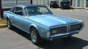 1968 Mercury Cougar, California Car
