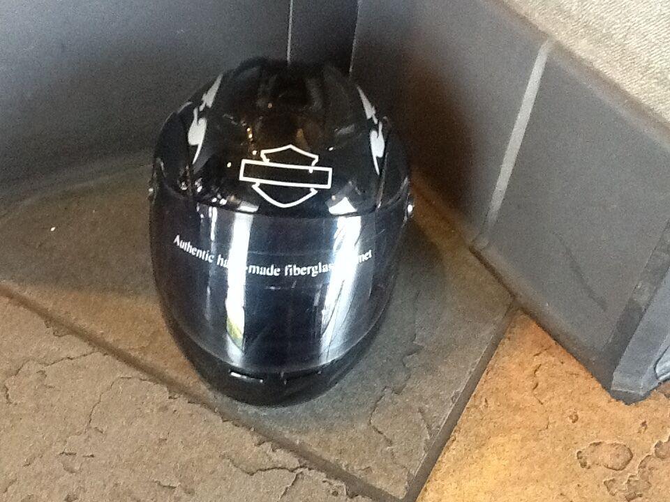 Mini Display Authentic Hand Made Fiberglass 6 1 2  Helmet